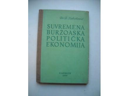 Suvremena buržoaska politička ekonomija, Dušan Sabolović