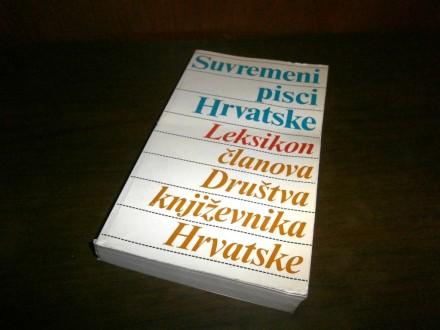 Suvremeni pisci Hrvatske - Leksikon clanova Drustva...