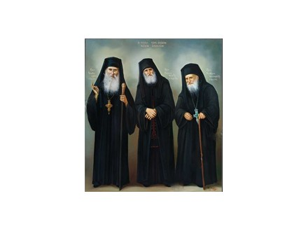 Sv.starci Jakov, Pajsije i Porfirije