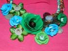 Svečana zelena ogrlica