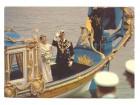 Svedski kralj i kraljica,color razglednica,1976.