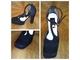 Svetlucave crne elegantne cipelice slika 3