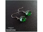 Swarovski mindjuse crystal Clover, Moss Green, New