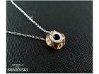 Swarovski ogrlica u Pandora stilu, crystal Golden Sh