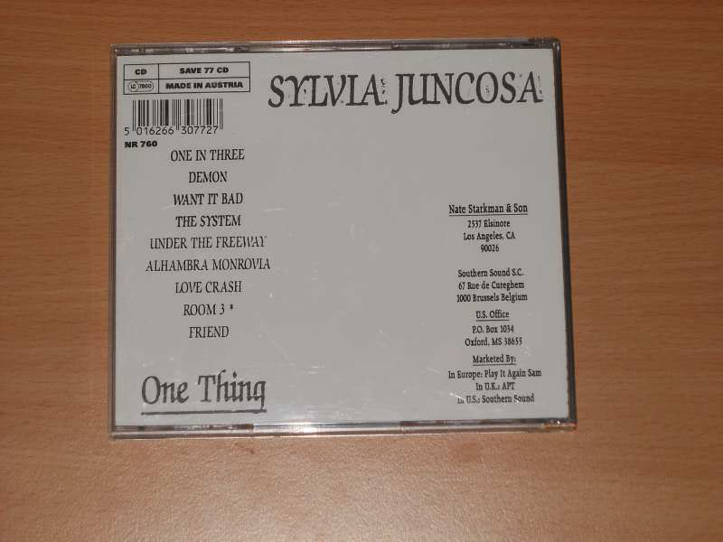 Sylvia Juncosa - One Thing