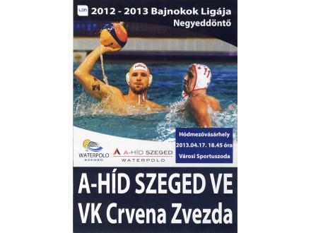 Szeged VE - VK Crvena Zvezda , 2013.god.