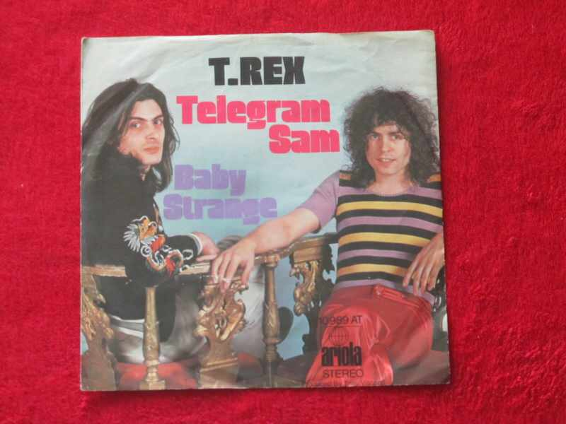 T. Rex - Telegram Sam / Baby Strange