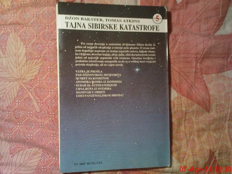 TAJNA  SIBIRSKE KATASTROFE - DZ. BAKSTER- T. ATKINS