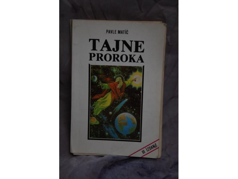 TAJNE PROROKA - Pavle Mitic