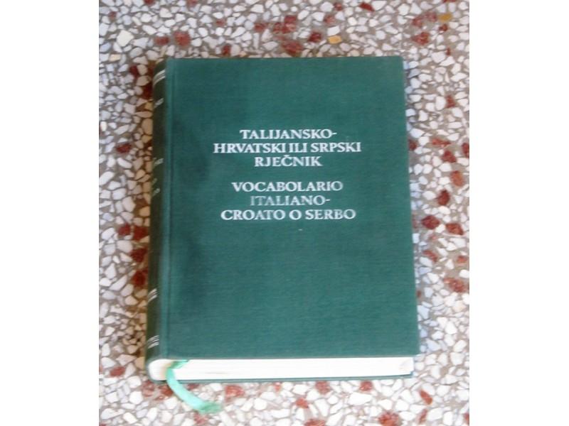 TALIJANSKO-HRVATSKI RJEČNIK - M. DEANOVIĆ, J. JERNEJ