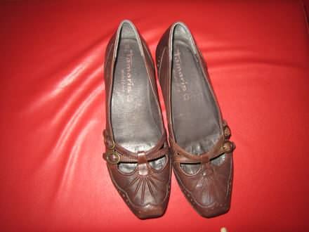 TAMARIS braon cipele 38