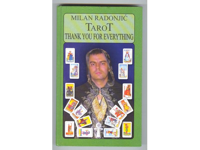 TAROT,Thank you for everything,Milan Radonjic