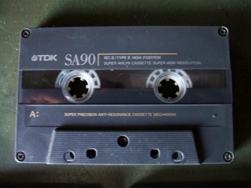 TDK SA90 chrome 3 komada