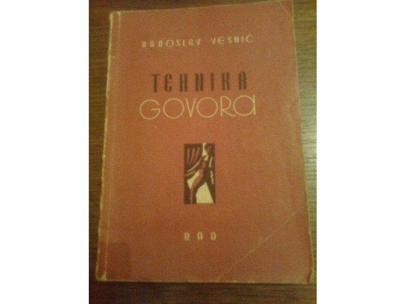 TEHNIKA GOVORA - Radoslav Vesnić