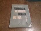 TEHNOLOGIJA MEHANICKE OBRADE METALA - V.Stankovic