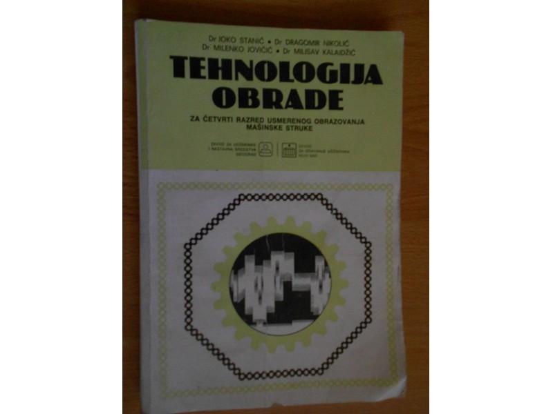 TEHNOLOGIJA OBRADE - za mašinsku struku