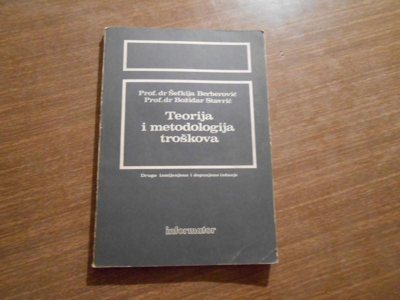 TEORIJA I METODOLOGIJA TROSKOVA