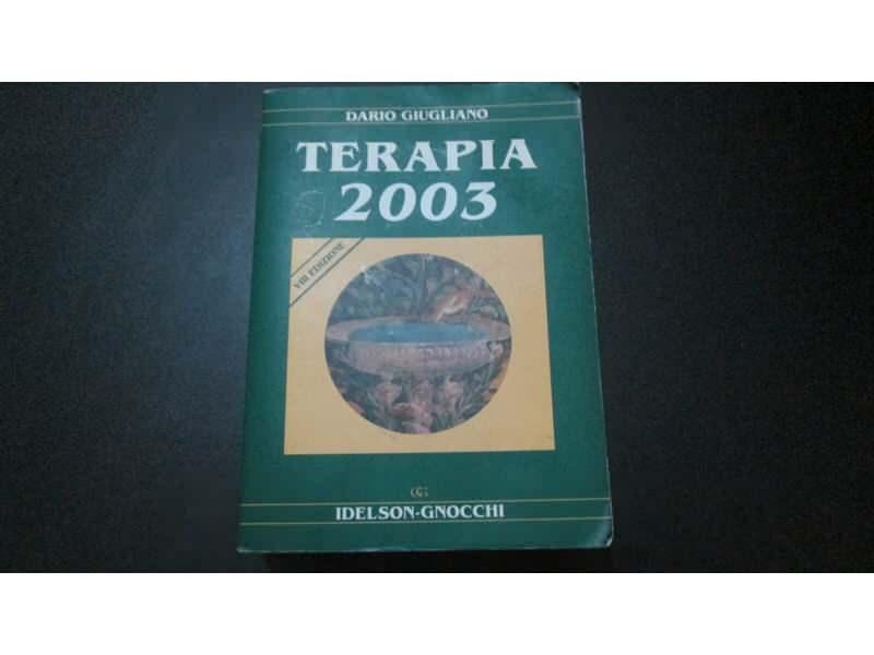 TERAPIA 2003 Dario Giugliano