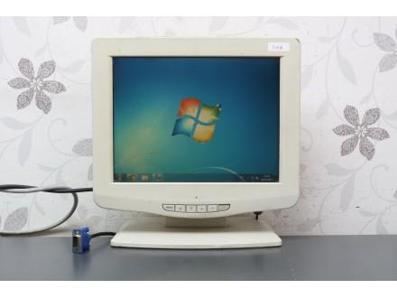 """TFT 12"""" monitor malih dimenzija 0140"""