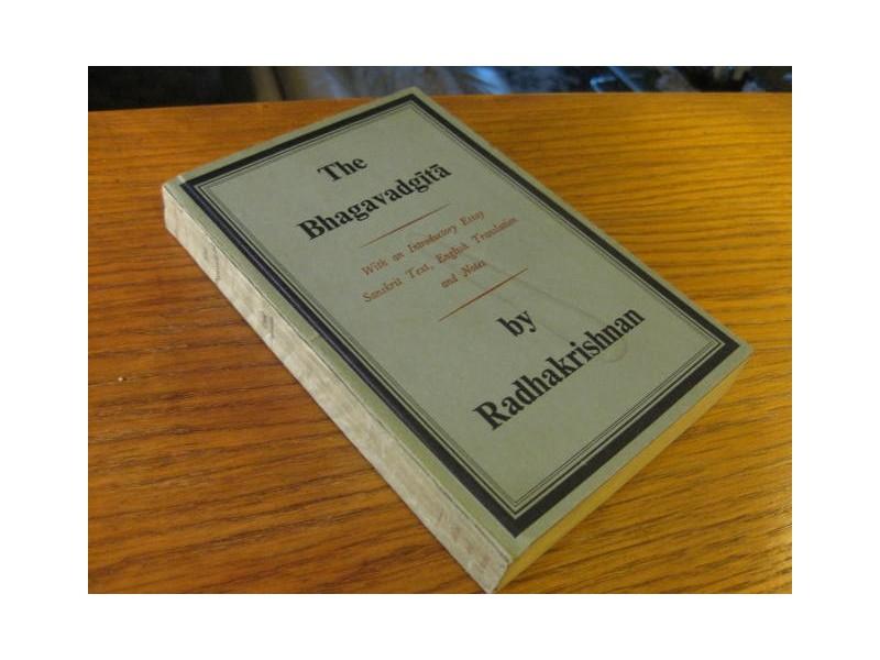 THE BHAGAVADGITA Radhakrishnan ( na engleskom )