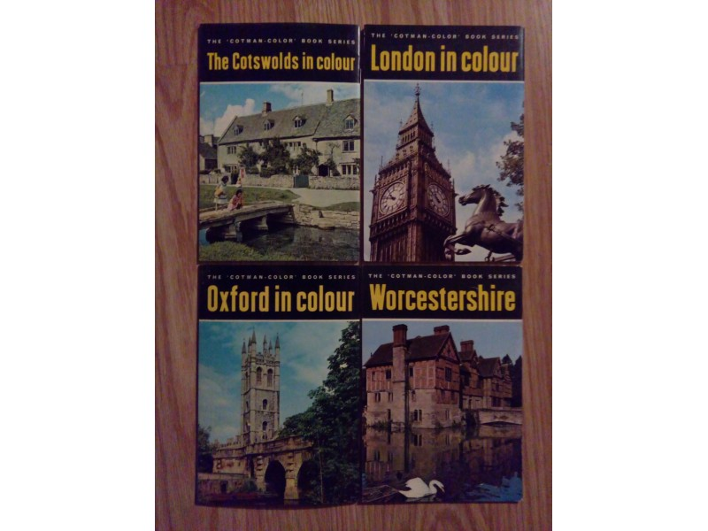 THE COTMAN-COLOR BOOK SERIES