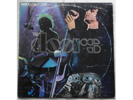 THE  DOORS  -  2LP  ABSOLUTELY  LIVE