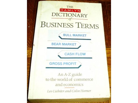 THE HAMLYN DICTIONARY OF BUSINESS TERMS