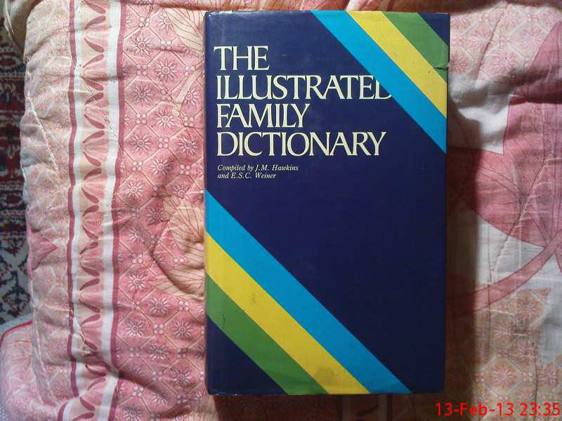 THE ILLUSTREL  FAMILY  DICTIONARY