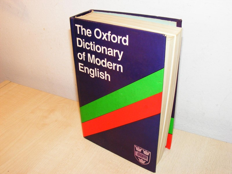 THE OXFORD DICTIONARY OF MODERN  (besplatna dostava)