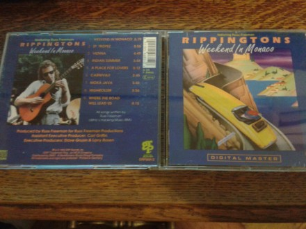 THE RIPPINGTONS AND RUSS FREEMAN-WEEKWND IN MONACO