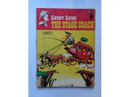 THE STAGE COACH Lucky Luke