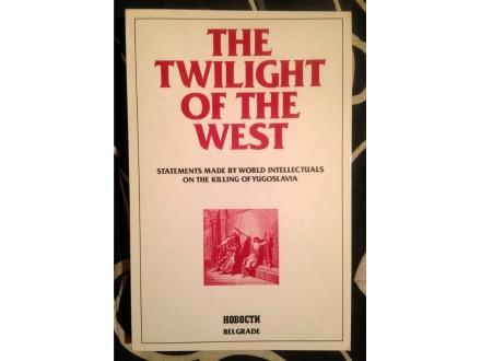 THE TWILIGHT OF THE WEST Novo Tomić