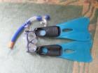 TIBORD Peraja za plivanje + Maska za ronjenje br. 33-34