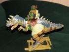 TMNT, Paleo Patrol Dino Runners, Mikelanđelov Alosaurus