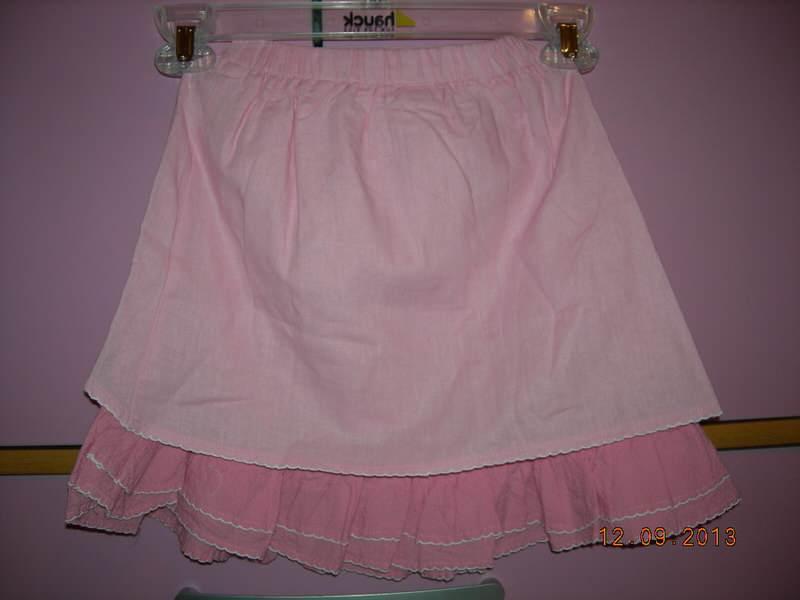 TODOR roze suknjica, NOVO!