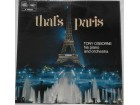 TONY  OSBORNE  -  THAT`S  PARIS   (U.K. Press)