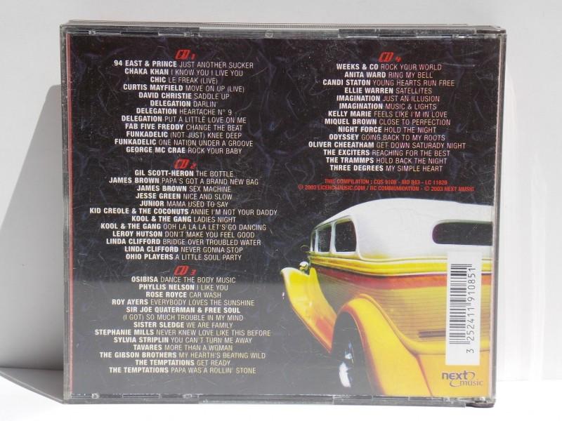TOTAL FUNK 4 CD NEXT MUSIC