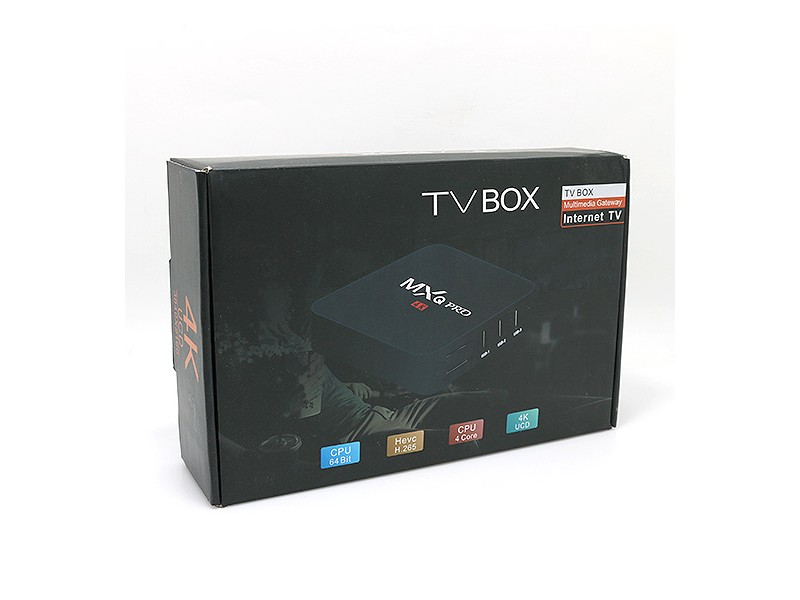 TV box MXQ pro 4K 1GB/8GB crni