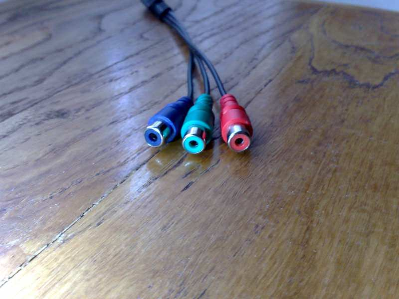 TV out kabas S-video na component RGB