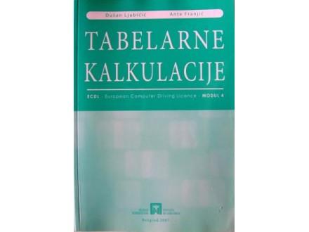 Tabelarne kalkulacije - Dušan Ljubičić i Ante Franjić