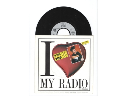 Taffy ‎– I Love My Radio (Midnight Radio)