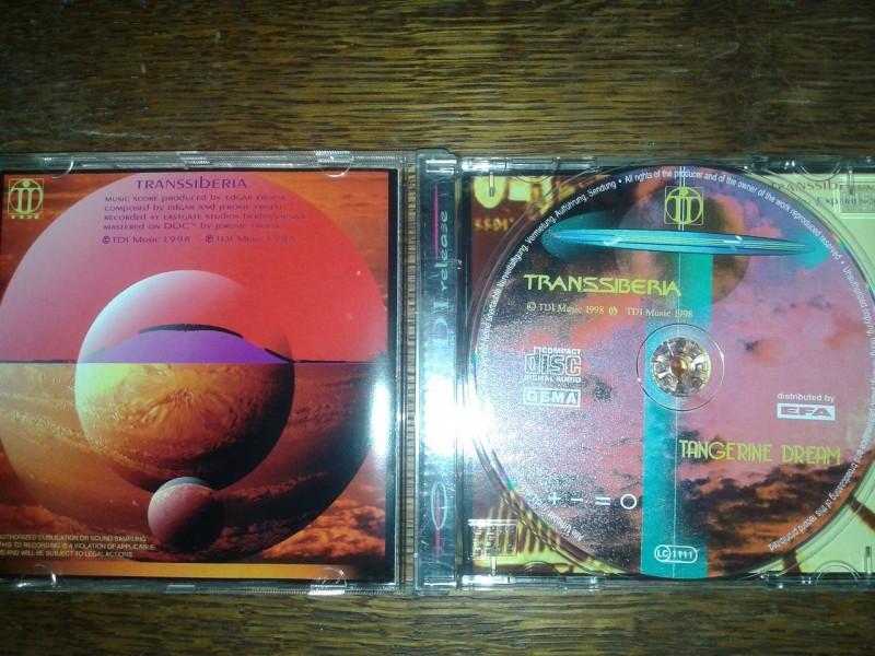Tangerine Dream - Transsiberia