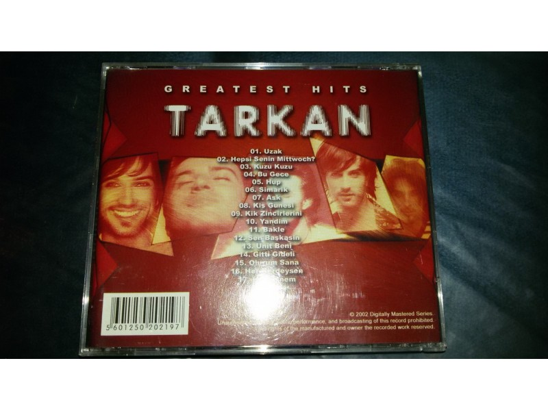 Tarkan - Greatest Hits