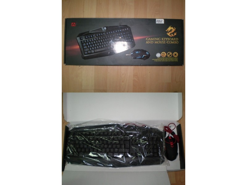 Tastatura Jetion DKB089+Mis blue Gaming svetleca-1125