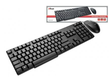 Tastatura Trust 16593 Wireless Deskset