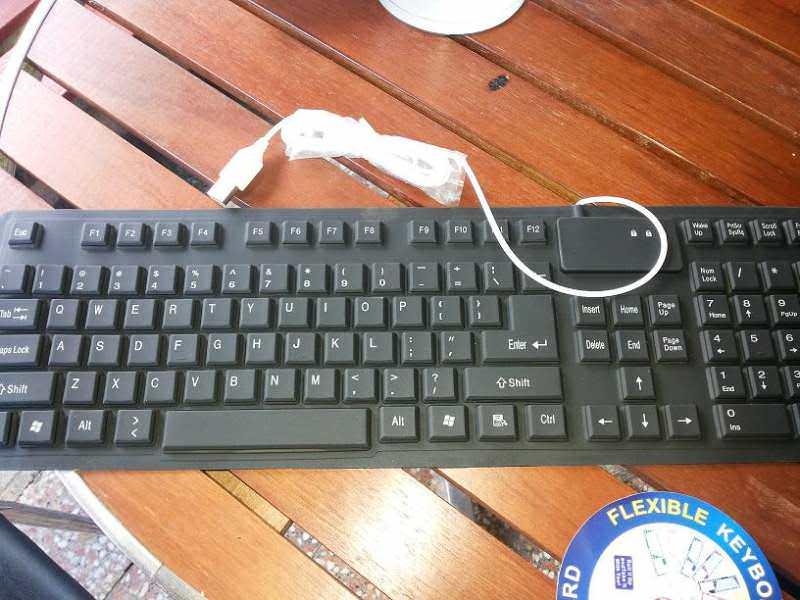 Tastatura gumena