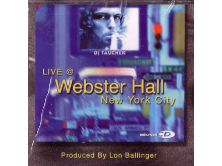 Taucher - Live @ Webster Hall New York City