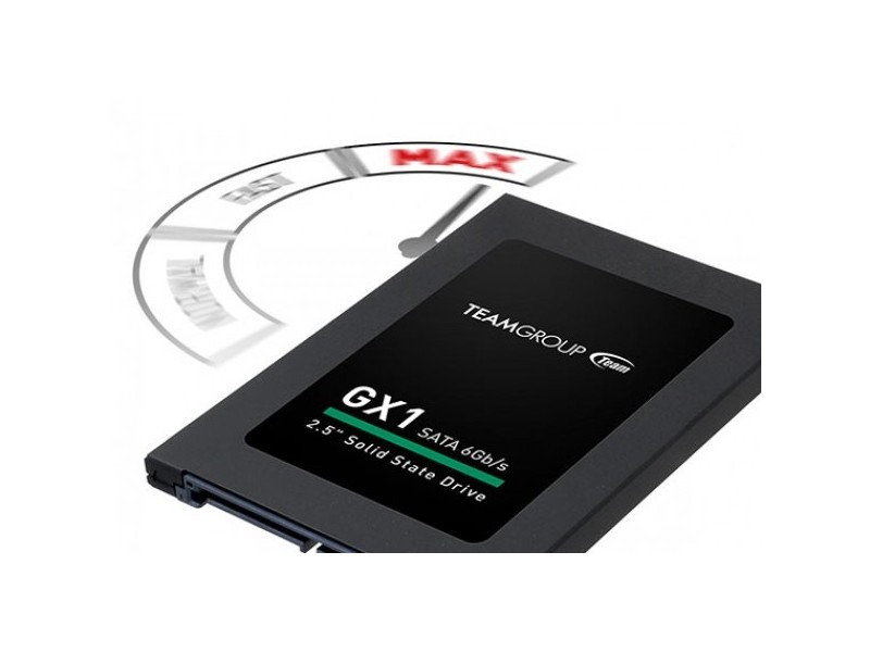 TeamGroup 2.5` 480GB SSD SATA3 GX1 7mm 530/480MB/s T253X1480G0C101