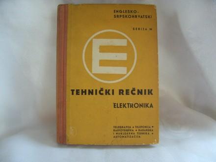 Tehnički rečnik elektronika