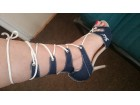 Teksas sandale na pertlanje